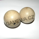 40mm  Kulička HABR  - natural  1ks GAMEWA EXTRA