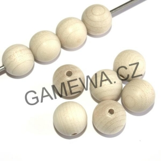 16mm Kulička JAVOR - natural  10ks GAMEWA Extra