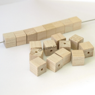 10x10mm Kostkal natural 25ks  GAMEWA Extra