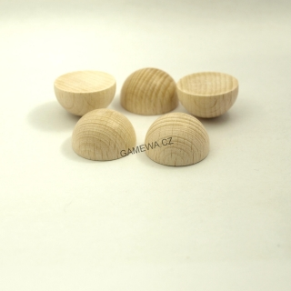 20mm  Polokoule natural 5ks  GAMEWA Extra