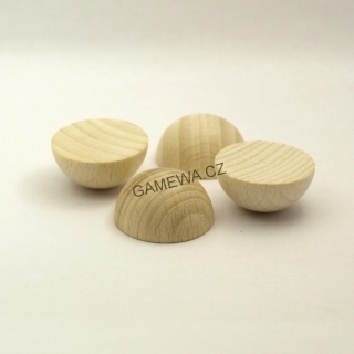 30mm  Polokoule natural 2ks  GAMEWA Extra
