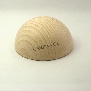 60mm  Polokoule natural 1ks  GAMEWA Extra