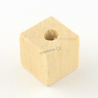 20x20mm Kostkal natural 7ks