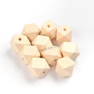 20x20mm Kostkal natural 6ks
